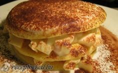 Olasz palacsinta (almás-joghurtos) recept fotóval