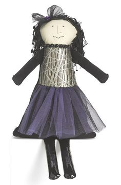 Woof & Poof Small Witch with Spider Web Skirt Doll