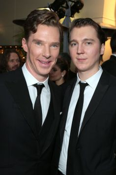 Benedict Cumberbatch And Paul Dano At The Oscars After Parties