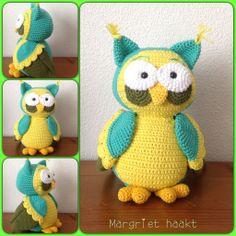 Crochet owl / gehaakte uil