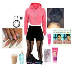"""""""IDK MAYBE GO TO THE BRONX"""" by curlss-wavyy-sexy ❤ liked on Polyvore featuring American Apparel, Skinnydip, Nicki Minaj, Victoria's Secret, PhunkeeTree, Lancôme, women's clothing, women, female and woman"""