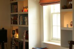 Study And Bookshelves » Fitted Furniture » Home