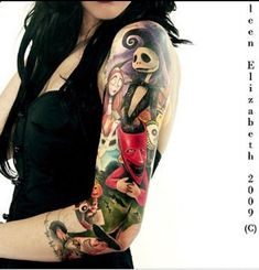nightmare before christmas tattoos | The nightmare before Christmas tattoo. I will one day have my full ...