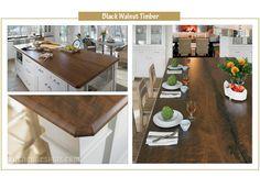 Formica 180FX Black Walnut Timber Photo - Kitchen Designs by Ken Kelly