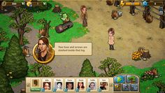 'The Hunger Games Adventures' Facebook Game. Example of social game.