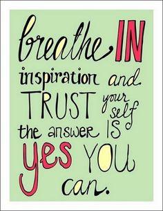 #Motivation Monday: Trust Yourself