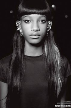La crise d'ado de Willow Smith dans V magazine | DailyELLE