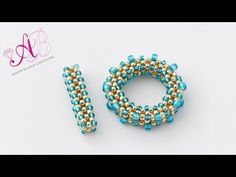 Video: T-BAR  in cubic RAW #Seed #Bead #Tutorials