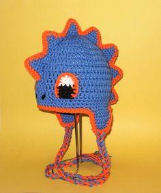 Dragon Hat Crochet