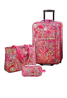 pink luggage | Stuff | Pinterest | Pink luggage and Pink images