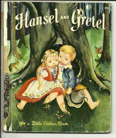 Vintage Little Golden Book  Hansel and Gretel