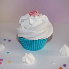 cupcake soap by Dleesnow on Etsy, $8.00