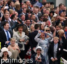 Ladies cheer on their horses on Ladies Day during the 2016 Investec Epsom Derby Festival at Epsom Racecourse, Epsom. Epsom Derby, Sports Pictures, Race Day, Ascot, Chester, Racing, Fashion, Running, Moda