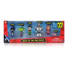 Teen Titans 2 Inch Figures - 6 Pack