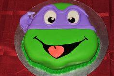 TMNT Donatello – Small Teenage Mutant Ninja Turtle cake, Donatello!