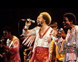 #5: Earth Wind & Fire in Concert Maurice White and group singing 810 Promotional Photog