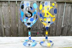 Personalized Wine Glass 20 oz by ahindle78 on Etsy https://www.etsy.com/listing/155678290/personalized-wine-glass-20-oz