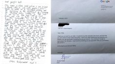 7-year-old girl sends 'Google boss' job application, gets a response | Fox News