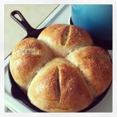 Black Skillet French Bread | A Year of My Own Making