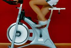 Indoor Cycling Take a load off your legs! Cycling on a stationary bike is generally safe even if you're just starting an exercise program. Spinning is a good way to boost your heart rate without stressing your joints. As your belly grows, you can raise the handle-bars for greater comfort.