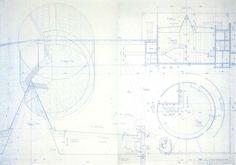 Tadao Ando, Contemporary Art Museum Naoshima Island, working drawings and details