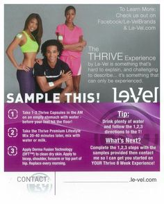Take the next step and get a free sample click http://andi2917.le-vel.com/ sign up and ill send you a sample