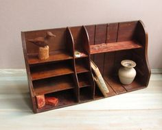 Vintage Mail Sorting Hutch by LittleDogVintage on Etsy