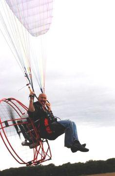 Capt Kurt, powered paragliding