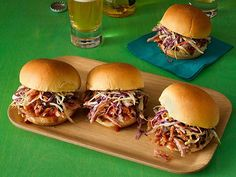 Get Pulled Pork Sliders Recipe from Food Network