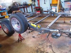 Bagged bodydropped trailer - Street Source The Ultimate Custom Automotive Resource