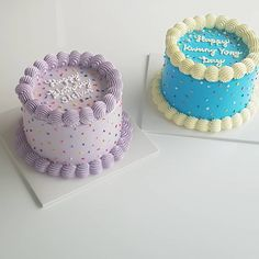 Sweet Cakes, Cute Cakes, Pretty Cakes, Beautiful Cakes, Cake Decorating Designs, Cake Decorating Techniques, Cake Designs, Mini Cakes, Cupcake Cakes