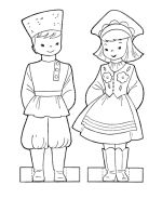 Paper dollswith costumes from around the world - good tie-in for the littles.