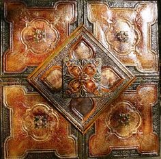 Beautiful, glue up, faux tile. This would be gorgeous on a backsplash!