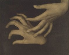 Alfred Stieglitz fell in love with Georgia O'Keeffe's artwork before falling head over heels over her.