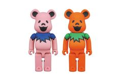 "Grateful Dead x Medicom Toy ""Dancing Bears"" Bearbrick"