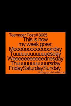 Teenager Post- so true Funny Teen Posts, Teenager Posts, Funny Relatable Memes, Relatable Posts, 9gag Funny, Teen Quotes, Funny Teenager Quotes, Funny Quotes For Teens, Teen Life