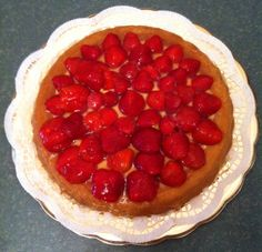 Crostata alle fragole / Strawberry tart