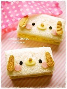 Kawaii Puppy Sandwich
