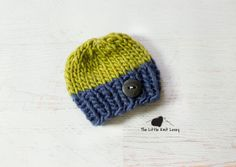 Wool Knit Hat for Baby Adorable Photography by LittleKnitLovey, $22.00