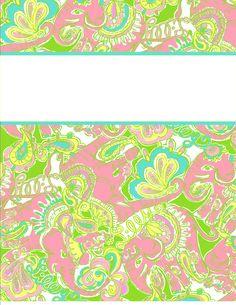 cute tumblr free printable binder covers | binder covers28