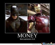 The Best SuperHero Power : Explained    geek lol, superheroes, funny nerdy pics