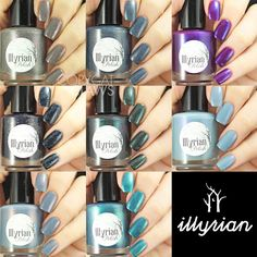 Copycat Claws: Illyrian Polish Eerie Woodlands Part 3 and Color4Nails Exclusives