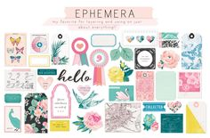Hello Maggie Holmes Ephemera! I love you, just sayin | Chasing Dreams Collection