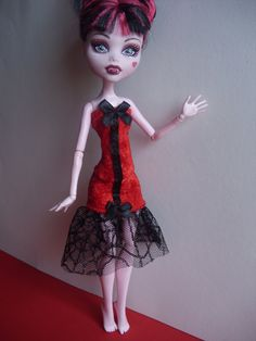 Handmade Clothes for Monster High Doll by MonstaFashion on Etsy, €7.55