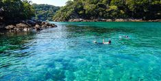 Lagoa Azul - Ilha Grande - Angra dos Reis - RJ