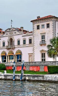 Villa Vizcaya, Florida. Photo by Andy New.