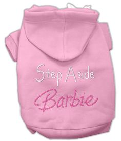 Let your pooch be sassy while showing off their style in this adorably soft and comfortable dog hoodie. A poly/cotton sleeved hoodie for cold weather days - double stitched in all the right places for
