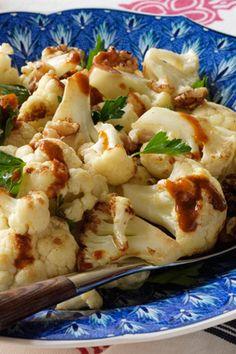 Garam masala cauliflower.