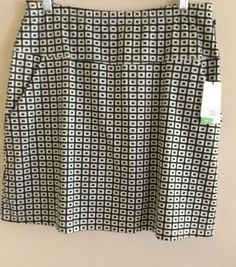 NEW Tail Ladies Golf Athletic Skirt Skort-Small Size NWT Black White Print CUTE!    eBay