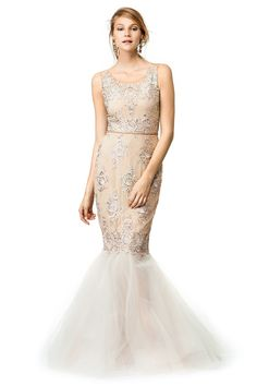 Marchesa Notte Only Rose Gown